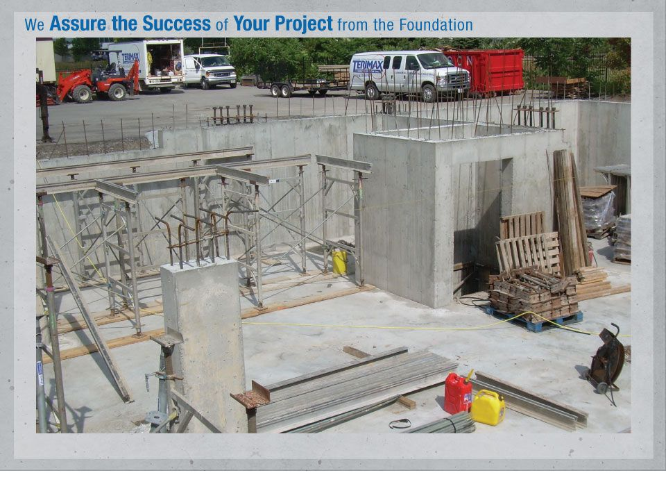 We Assure the Success of Your Project from the Foundation - Concrete foundation