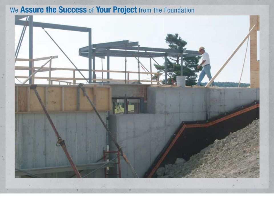 We Assure the Success of Your Project from the Foundation - Employee Terimax