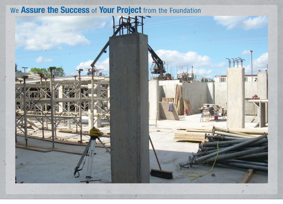 We Assure the Success of Your Project from the Foundation - Michaels, Ottawa